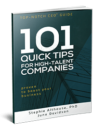 101 tips for high-talent companies